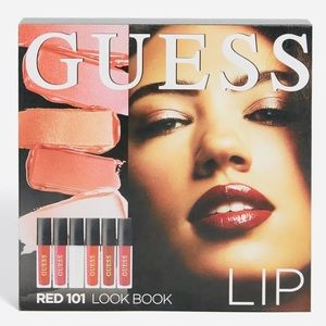 New Guess Lip Look Book Red 101 Gloss and Matte